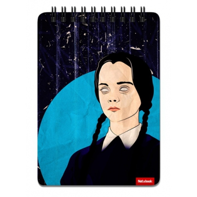 "Блокнот ""Wednesday Addams\"" A6 Pad, Wednesday Addams, The Family Addams"
